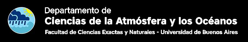 Departamento de Ciencias de la Atmósfera y los Océanos